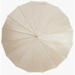 mabu - Ultralight 16 Rib Umbrella Irodori (Marble Vanilla)