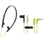 Audio-Technica - ATH-CKP330 Ladies 2-Way Sports Earbuds (BGR)