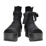 TOKYO BOPPER No.121 / Black bandages Boots
