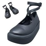 TOKYO BOPPER No.871 / Black Smooth Shoes