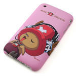 iPhone 3G/3GS Shell Jacket One Piece TonyTony Chopper (Pink)