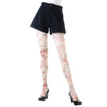 Harajuku Style Flower Print Tights/Leggings