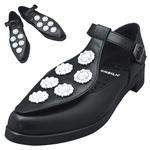 TOKYO BOPPER No.954 / Black & White bijou shoes