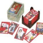 Spirited Away playing cards to Chihiro