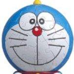 60 Pieces 3D Puzzle - Doraemon - 7.6cm Doraemon Shape