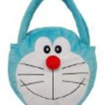 Face bag soft Doraemon