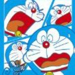 Jigsaw puzzle mini Dora Doraemon 204 small Pease HELP ME! (10 cm by 14.7 cm the panels: Petit-only)