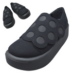 TOKYO BOPPER No.876 /  Black R dot shoes