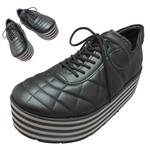 TOKYO BOPPER No.331 / Black-smooth leather - Black&gray sole
