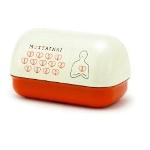 MOTTAINAI Lunchbox (Onigiri-shape/Heart) D08014