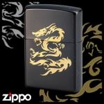 Dragon Zippo - Flame Dragon (Black II)