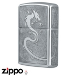 Dragon Zippo - Armor 162 Dragon - Mirror White