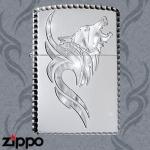 Dragon Zippo - Gilded Tribal Wolf Zippo