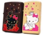 Zippo - Hello Kitty Pair Zippo - Butterfly