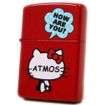 Zippo - Hello Kitty x Atmos Collaboration Model - Red
