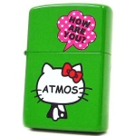 Zippo - Hello Kitty x Atmos Collaboration Model - Green