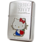 Zippo - Hello Kitty Color Relief - Silver