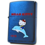 Zippo - Hello Kitty Historical Series - Metal Blue