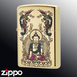 Zippo - Avalokitesvara Bodhisattva - 24 Karat Gold