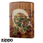 Zippo - Teak Wind God Zippo