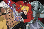 Fullmetal Alchemist - Creation and Destruction Jigsaw Puzzle