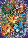 Pokemon - Colorful Pokemon World Jigsaw Puzzle