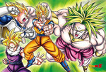Dragon Ball Z - Legendary Sayans Jigsaw Puzzle