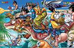 Dragon Ball Z - Go Go Paradise! Jigsaw Puzzle