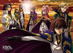 Code Geass: Lelouch of the Rebellion - Knights of the Round Jigsaw Puzzle