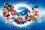 Tezuka Osamu - Nostalgic Characters Jigsaw Puzzle