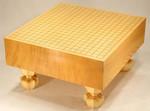 Size 40 Shin-Kaya Floor Go Board Set Excellent