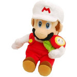 Super Mario - Fire Mario Plush (S)