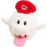 Super Mario Galaxy - Ghost Mario Plush