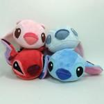 Disney Assorted Lazy Stitch - Plush Set of 4