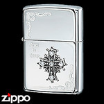 Sterling Silver Zippo - Holy Cross