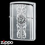 Sterling Silver Zippo - Victorian Key