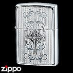 Sterling Silver Zippo - Victorian Metal