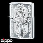 Sterling Silver Zippo - Regal Sword