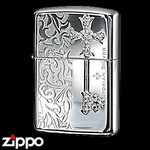 Sterling Silver Zippo - Victorian Key  (I)
