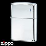 Sterling Silver Zippo - Sapphire