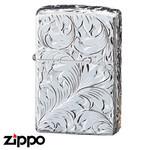 Sterling Silver Zippo - Foliage  (155HC1)
