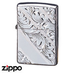 Sterling Silver Zippo - Foliage  (152HC)