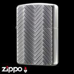 Armor 162 Zippo - Wire Mesh  (Silver Oxide)