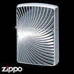 Engraved Armor Zippo - Chrome Flare