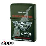 Skull Zippo - CBGB & OMFUG  (Map)