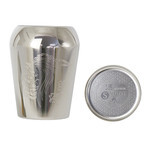 Titanium Double-Wall Tumbler SELECT with Coaster  (Demon Lord - Silver)