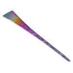 Titanium Hair Stick  (Milky Way - Violet)