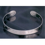 Titanium Bangle  (Horses S)