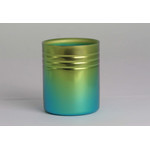 Double-Walled Titanium Mug Cup - Small  (Gradation Green)