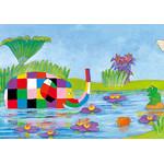 David McKee - Elmer 300 Micro Piece Jigsaw Puzzle